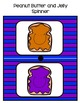 Peanut Butter and Jelly Partner Cards