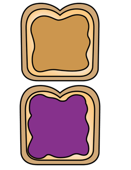 peanut butter and jelly partners by ms carrillo tpt rh teacherspayteachers com  peanut butter and jelly clip art free