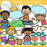Peanut Butter and Jelly Picnic Clip Art