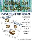 Peanut Butter and Jelly Sandwiches {Cooking In The Classroom}