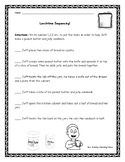 Peanut Butter and Jelly Sequencing Worksheet