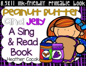 Peanut Butter and Jelly Sing and Read Book