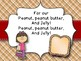 Peanut Butter and Jelly Song/Rhyme - National Peanut Butter & Jelly Day, April 2