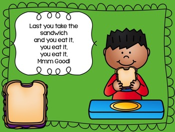 Peanut Butter and Jelly Lesson Plan and Sequencing Cards