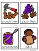 Peanut Butter and Jelly Story Sequence Cards (Math and Literacy)