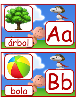Peanut Charlie Brown in Spanish
