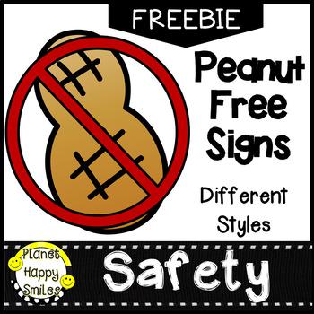 Peanut Free ~ FREEBIE!