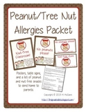 Peanut Free/Nut Free Poster Packet