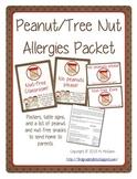 Peanut Free/Nut Free Poster Packet