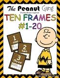 Ten Frames Numbers 1-20 Snoopy Charlie Brown The Peanuts G