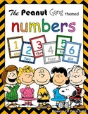 Numbers: Snoopy Charlie Brown The Peanuts Gang Theme Inspired