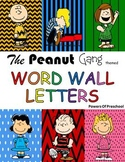 Word Wall Letters: Snoopy Charlie Brown The Peanuts Gang T
