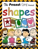 Shapes: Snoopy Charlie Brown The Peanuts Gang Theme Inspired