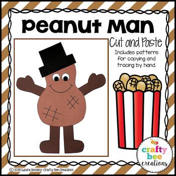 Peanut Man Cut and Paste