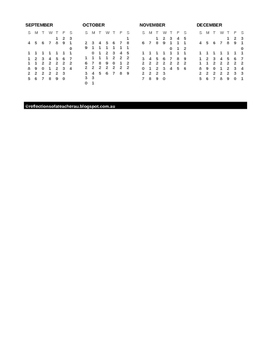 SNOOPY THEMED 2016 DESK CALENDAR (FREEBIE)