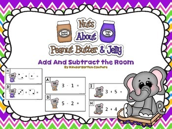 Peanut butter And Jelly Add and Subtract The Room to 8