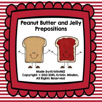 Peanut butter and Jelly Prepositions