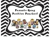 Peanuts, Charlie Brown, Snoopy behavior chart