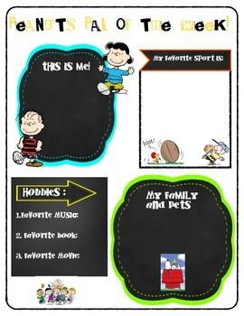 Peanuts, Charlie Brown, Snoopy student of the week