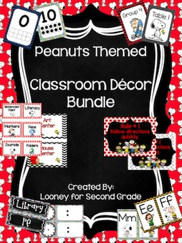 Peanuts Classroom Decor Bundle