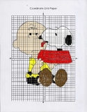 Peanuts Coordinate Graphing Charlie Brown & Snoopy