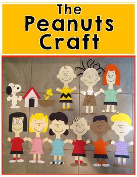 Peanuts Craft {Charlie Brown & the Gang}