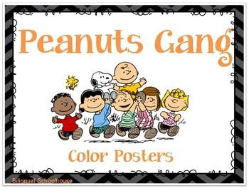 Peanuts Gang- Charlie Brown- Color Posters