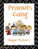 Peanuts Gang- Charlie Brown- Shape Posters