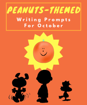 """Peanuts Gang"" October-Themed Writing Prompts"