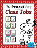 Class Jobs: Snoopy Charlie Brown The Peanuts Gang Theme Inspired