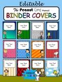 Editable Binder Covers Snoopy Charlie Brown The Peanuts Ga