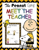 Meet the teacher Snoopy Charlie Brown The Peanuts Gang The