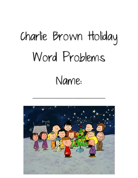 Peanuts Holiday Word Problems