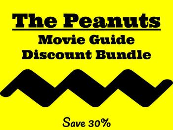 Peanuts Movie Guides-Discount Bundle-Common Core Aligned for Middle School