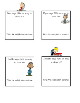 Peanuts Multiply Problems