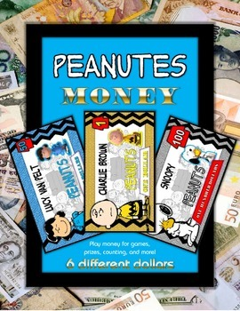 Peanuts Play Money Set