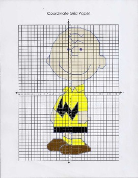 Peanuts Series Coordinate Graphing Charlie Brown