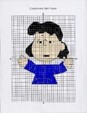 Peanuts Series Coordinate Graphing Lucy