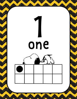 Peanuts Snoopy 10 Frames