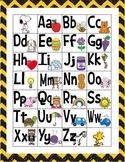 Peanuts Snoopy Alphabet Linking Chart