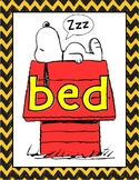 Peanuts Snoopy Bed Poster b d Confusion