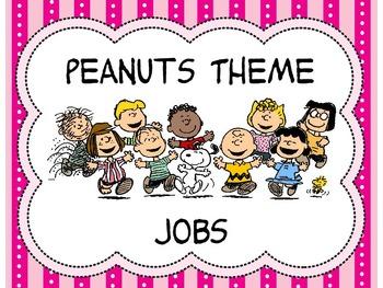 Peanuts Theme Jobs