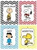 Peanuts Theme Kagan Tags