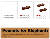 Peanuts for Elephants   Ten Frame - Counting 0-10 Mats - L