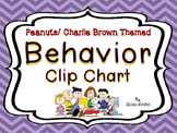 Peanuts or Charlie Brown Behavior Clip Chart