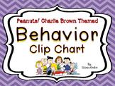 Peanuts or Charlie Brown Behavior Clip Chart