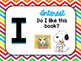 Peanuts or Charlie Brown Themed I PICK Good-Fit Books Chart