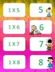 Peanuts themed Multiplication facts (0-3)  Concentration & War Card Games