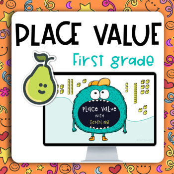 Pear Deck™ 1st Grade Place Value Practice Activity for Distance Learning
