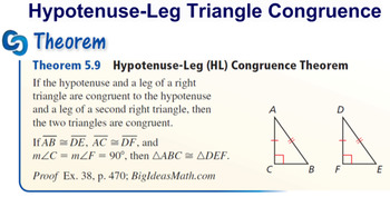 Pear Deck: Hypotenuse Leg Theorem